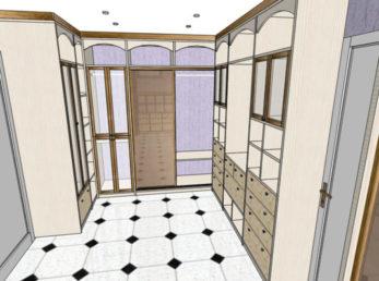 Проект 4 шкафы-купе воронеж