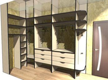 дизайн-проект шкафы-купе на заказ цена воронеж