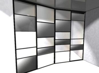 проект 3 шкафы-купе воронеж