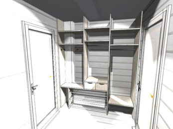 проект шкафы-купе на заказ цена воронеж