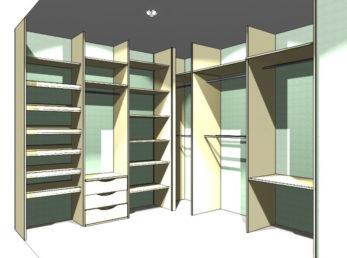 шкафы-купе воронеж проект 3